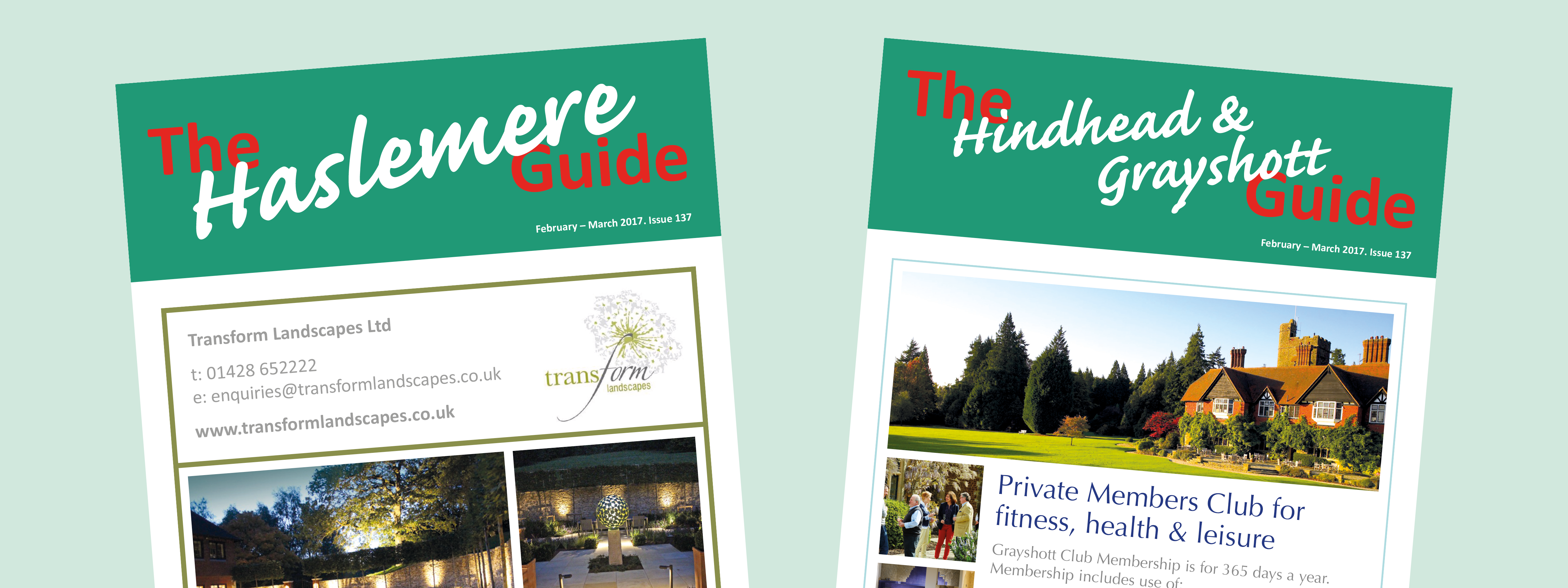 Want to advertise in the Guide Magazines?